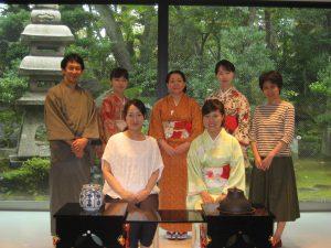 千代女全国俳句大会呈茶