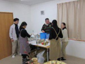 みどりの絆プロジェクト(東北支援)に参加しました。  金川
