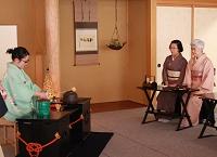 東日本大震災チャリティ茶会