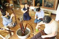 親子ふれあい行事「竹工芸講習会」