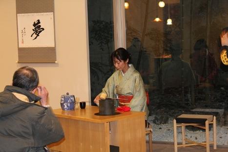 灯明まつり協賛呈茶「喫茶去~平和への祈りを一碗に込めて~」