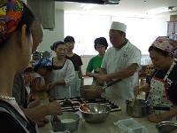 和菓子講習会「あの夏の葛焼」(富山西青年部)