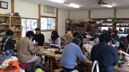 茶碗作り教室(加賀青年部)