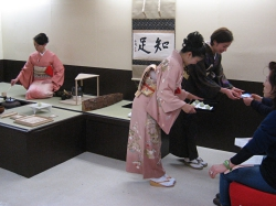 第71回金沢市工芸展 茶席