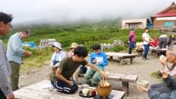 白山登山・室堂茶会