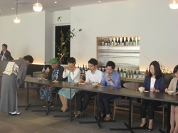 dining gallery 銀座の金沢での呈茶