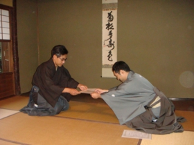 卒業茶会H27
