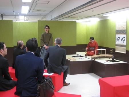 第72回金沢市工芸展呈茶