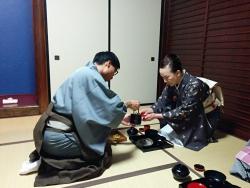 石川南青年部 平成28年度卒業茶会