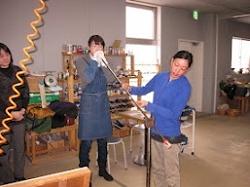 ガラス工房体験会(上越青年部)
