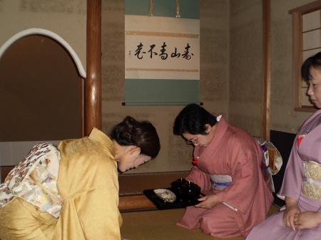 卒業茶事(富山西青年部)