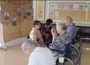 湯の里ナーシングホーム ボランティア茶会